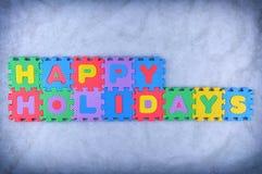 happy holidays Στοκ Εικόνες