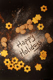 happy holidays Στοκ εικόνες με δικαίωμα ελεύθερης χρήσης