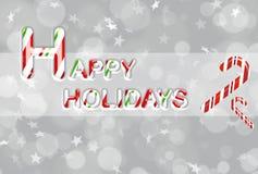 happy holidays Απεικόνιση αποθεμάτων