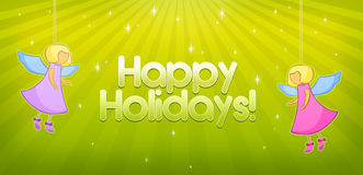 Happy holidays Stock Photography