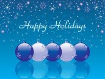 Happy holidays background Royalty Free Stock Photos