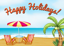 Happy Holidays Stock Images