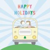 Happy holidays4 Royalty Free Stock Image