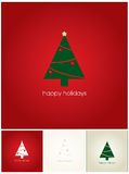 Happy holidays card Stock Photos