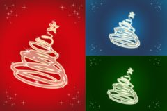 Happy holidays card Stock Images