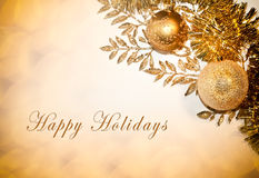 Free Happy Holidays Card Royalty Free Stock Image - 35930486