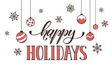 Free Happy Holidays Card Stock Photos - 65066013