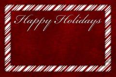 Happy Holidays Stock Photography