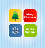 Happy Holidays. Card 4 Royalty Free Stock Images