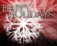 Happy holidays concept background Royalty Free Stock Photo