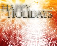 Happy holidays concept background Stock Images