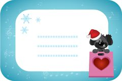 Happy holidays greeting card background vector illustration Royalty Free Stock Images