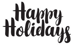 Happy holidays Greeting card Royalty Free Stock Photo