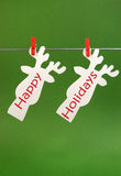 Happy Holidays greeting Stock Images