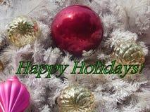 Happy Holidays Greeting royalty free stock photos