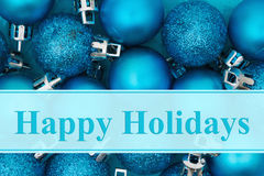Happy Holidays greeting Stock Photo