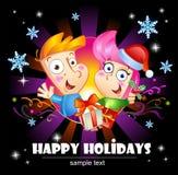 Happy Holidays greetings. Royalty Free Stock Photos
