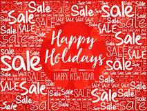 Happy Holidays and Happy new year Stock Image