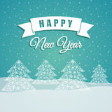 Happy holidays and merry christmas card Royalty Free Stock Photos