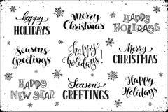Free Happy Holidays Phrases Royalty Free Stock Photography - 82657697
