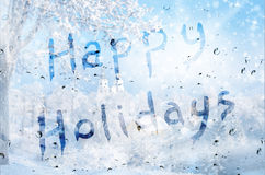 Happy holidays Royalty Free Stock Photography