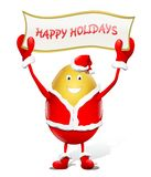 Happy Holidays - Santa Claus Royalty Free Stock Photo
