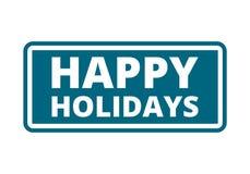 Happy Holidays sign, icon. Happy Holidays sign, vector icon Stock Photos