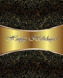 Happy Holidays Vector Card Stock Photo