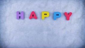 Happy Holidays stock footage