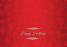 Happy hollidays greeting card Royalty Free Stock Images