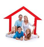 Happy home concept Stock Photos