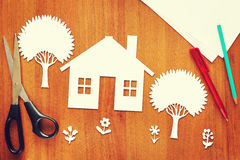 Happy home Royalty Free Stock Images