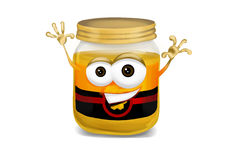 Happy honey Royalty Free Stock Photos