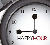 Happy hour Royalty Free Stock Images