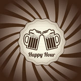 Happy hour Imagens de Stock Royalty Free