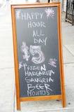 Happy hour Immagine Stock Libera da Diritti