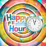 Happy hour Stock Photography