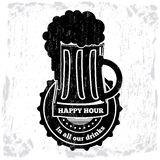 Happy hour Royalty Free Stock Photos