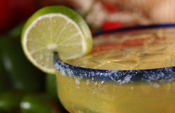 Happy Hour Margarita close up Royalty Free Stock Photos