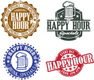 Happy Hour Specials Stock Image