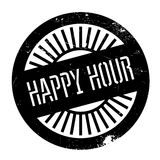 Happy hour stamp Royalty Free Stock Photo