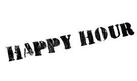 Happy hour stamp Stock Images