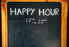 Happy Hours Stock Images
