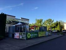 Outside of University of Oregon royalty free stock photo