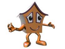 Happy house Stock Photos