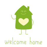 Happy house Royalty Free Stock Image
