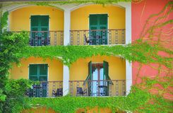 Happy house in Italy royalty free stock photography