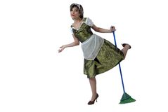 Happy house keeper Stock Photography