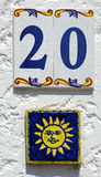 Happy house number Stock Photo