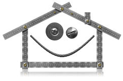 Happy House - Wink and Smile Stock Images